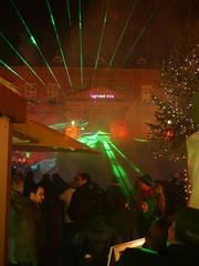 P1480015 Detmolder Advent 2014 (tottr) Tags: weihnachten december advent weihnachtsmarkt laser dezember rathaus lasershow weihnacht marktplatz lightart 2014 detmold donopbrunnen detmolderadvent uweacker