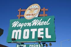 Wagon Wheel Motel (earthdog) Tags: wheel sign word nikon motel salinas 2014 1802000mmf3563 d5100 nikond5100