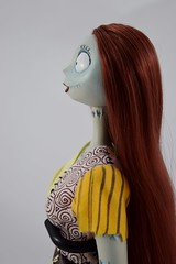 Sally Limited Edition 18'' Doll - Disney Store Purchase (2011) - On Display Stand - Portrait Right Side View (drj1828) Tags: standing doll sally resin purchase limitededition disneystore thenightmarebeforechristmas poseable 18inch deboxed