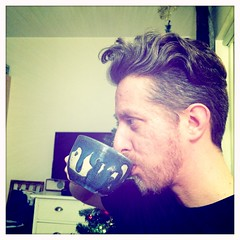 20150104-B (Heinrock) Tags: selfportrait television beard tea christmastree mug dnd365 taize hipstamatic iphone5s