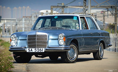 Mercedes-Benz 280S W108 1972 Hong Kong - SA 5261 (Ben Molloy Automotive Photography) Tags: hk classic car vintage photography ben automotive hong kong mercedesbenz vehicle 1972 molloy 280s w108