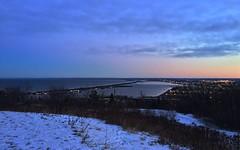 Duluth, MN (theminnesotagypsy) Tags: winter lake minnesota sunrise mn duluth lakesuperior