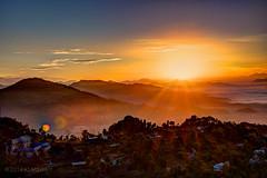 Sarangkot Sunrise-43 (KLMP) Tags: city nepal lake mountains sunrise pokhara fewa phewa annapurna sarangkot