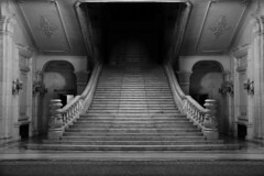 Bucharest - Palace of the Parliament (WorldPixels) Tags: stairs romania bucharest palaceoftheparliament