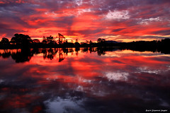 Wallamba River, Darawank, NSW, Sunset, August 10th 2014 (Black Diamond Images) Tags: wallambariver darawank sunset august10th2014 greatlakesnsw tuncurry nsw australia explore greatlakestourism beautifulgreatlakes bdi