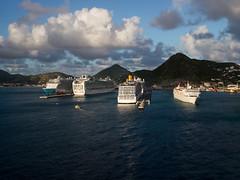 Sint Maarten Ships (travel-thing) Tags: cruise vacation costa port ship norwegian po caribbean maarten sxm sintmaarten oceania ncl