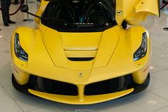 LaFerrari (JedSab17) Tags: auto cars beautiful yellow dallas amazing automotive ferrari v12 hypercar laferrari boardwalkferrari