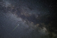 Green Meteor! (gainesp2003) Tags: sky green night way stars star space astrophotography shooting nickel astronomy milky meteor