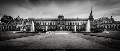 Die Sempergalerie des Zwingers in Dresden