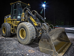 Loader Night (Western Maryland Photography) Tags: rock cat gap maryland caterpillar alleganycounty ef70300mmf456isusm canoneos6d