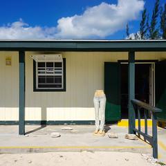 Princess Cays, Bahamas (Minno Ramirez) Tags: geometric mannequin architecture square structure jeans caribbean bahamas maniqui princesscays