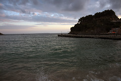 Clouds and water (Vojinovic_Marko) Tags: travel sea water nikon waterfront outdoor dusk hellas greece seafront ionian parga epirus  grka  d7200
