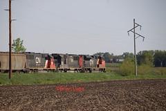 CN 8850(2) (eslade4) Tags: iarr iowariverrailroad ackley interchange cn canadiannational exiac exmstl excnw cn8850 sd70m2 ic1015 sd70 cn5483 sd60 l571