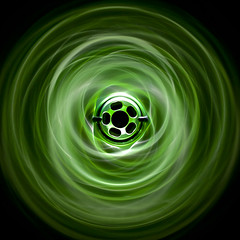 Kryptonice (dividetheocean) Tags: abstract green ego circle square pattern glow pb pe paintball geo planeteclipse kryptonice