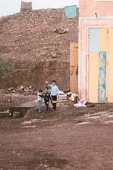Kids saying hello (Blackphant) Tags: travel portrait child explore morocco discover chldren
