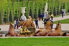 Versailles - 67 dans le parc du Chteau de Versailles (paspog) Tags: park france castle spring versailles april schloss avril chteau parc printemps grandcanal castel frhling 2016 chteaudeversailles parcduchteau