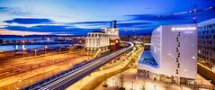 Le Silo by FredB Art (Frdric Bonnaud) Tags: city motion color night photography landscapes photo marseille cityscape silo nuit 6d 2016 poselongue canon6d fredbart fredericbonnaud