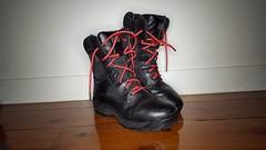 5.11 Combat Boots, Redefined (thepretenda) Tags: waterproof 511 combatboots mensshoes redlaces redshoelaces mensboots sidezip majorleaguedoorkicker doorkicker atacstormboot atacstormboot bloodbornepathogenresistant