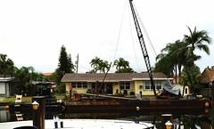 Barge - POTD #103 (sdobie) Tags: florida potd canals barges 2016 20thave