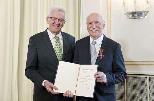 Bundesverdienstkreuz für Prof. Dr. Wieland Backes