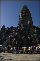 Angkor Tom (Mar Santorio) Tags: tom nikon cambodia siemreap angkor camboya angkortom