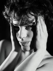 (Walter Daniel Fuhrmann) Tags: portrait blackandwhite blancoynegro face retrato cara melisa