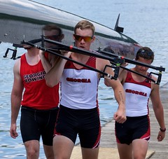 'Earned, Not Given'...LOOK CAREFULLY @ his arm. (tvdflickr) Tags: male men students sunglasses tattoo reflections georgia nikon competition guys crew tanktop d750 athletes uga scull rowers acra rowingregatta photobytomdriggers thomasdriggersphotography ugarowingcrew 200500afs