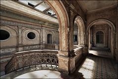 Palace K. (jeanny mueller) Tags: palace palast lost lostplaces urbex alt old architektur sule gebude schloss marode abandoned verlassen poland polen krowiarki
