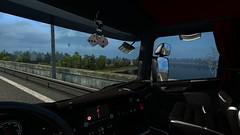 Vistula River (EduardoCBS) Tags: scania streamline highline r520 520 ets2 euro truck simulator 2 rjl norwegen norway road vlog diary caminhão viagem diário documentário vistula river poland