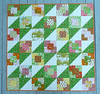 Strawberry Fields Forever (alidiza) Tags: quilt patchwork briarrose heatherross