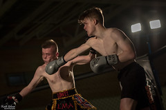 MMA Battleground (wiganworryer) Tags: 2 green ex sports sport liverpool canon photography 50mm prime hall photo fight hit image kick mark f14 picture sigma bank keith ii 7d punching fixed punch boxing fighting academy gibson mk dg battleground 2016 mma hsm wiganworryer