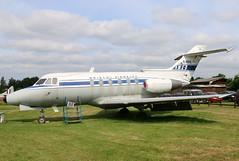 G-ARYC (GH@BHD) Tags: corporate aircraft aviation executive dehavilland bizjet londoncolney bae125 garyc hawkersiddeley hs125 dehavillandaircraftmuseum