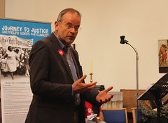 Paul Blomfield M.P. Guest speaker