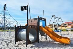 Eros Reserve San Remo (PlayRight Australia) Tags: park sanremo playgrounds corocord kompan spacenet imaginator birdsnestswing playrightaustralia pirateslidetowertunnel