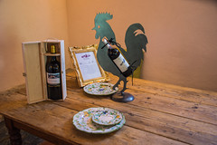 Greve in Chianti - Vicchiomaggio Wine Estate Display (Le Monde1) Tags: italy castle florence nikon wine vine tuscany tasting renaissance greve grapevine greveinchianti d610 castellovicchiomaggio lemonde1