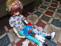 Dimenses [01/06] (Meteor-a) Tags: bjd ball jointed doll pullip cute kawaii hatsune miku minzy magic time miro connor femboy galinha pintadinha
