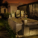 Late Night in Lafayette Cemetery New Orleans