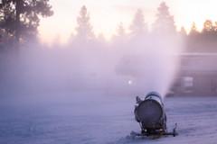 Snowmaking at Snow Summit