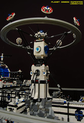 25_Intergalactic_Communication_Tower (LegoMathijs) Tags: expedition wire energy power lego crystal space el vehicles technic modular planet scifi 20 monorail functions mindstorms containers miners moc units nxt ores legomathijs oswion