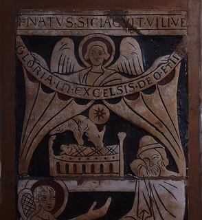 Saint Omer, Nord-Pas-de-Calais, Cathédrale Notre-Dame, nativity panels, detail