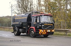 Volvo FL 180 Road Sweeper Darlington Group Wirral Merseyside (SJS Truck & Transport Photography.) Tags: volvo vehicles trucks wirral commercials merseyside lorries roadsweepers darlingtongroup