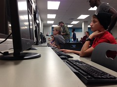 """Student at the 2014 Hour of Code • <a style=""""font-size:0.8em;"""" href=""""http://www.flickr.com/photos/109120354@N07/15472574364/"""" target=""""_blank"""">View on Flickr</a>"""