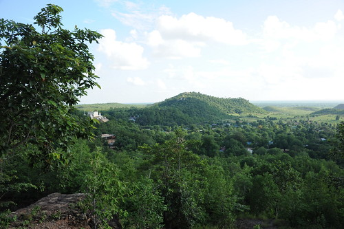 view from Po Win Daung Cave   Minyamar