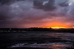 Saint-Malo (guillaume_roger_aussant) Tags: sunset mer soleil coucher bretagne vague vagues et saintmalo le lumire vilaine