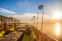IMG_9228 (Ephrem Marx Aparicio) Tags: travel blue sunset colors island restaurant native philippines bamboo hut photowalk cebu cordova mactan lapulapu lantaw