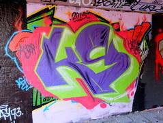 Graffiti Overschie (oerendhard1) Tags: urban streetart art graffiti rotterdam horns overschie atlas horn tunneltje
