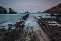 Slow And Steady Course (MANUELup) Tags: longexposure sea seascape beach lines spain rocks cantabria select somocuevas