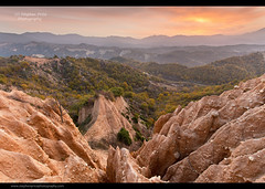 Sand Pyramids (Steve-P2010) Tags: sunrise landscape dawn sand pyramid bulgaria sandpyramid