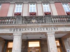 1954/55 Brandenburg/H. Bauschmuck an der Sonderschule des Zentralkomitees (ZK) der Sozialistischen Einheitspartei Deutschlands (SED) von O. Richter/H. Mebes/D. Just Gertrud-Piter-Platz 11 in 14772 (Bergfels) Tags: paar 1954 just ddr richter sed balustrade pfeiler altan getreide mebes ähren baluster beschriftet zk 1950er 14772 195455 djust sonderschule brandenburgh zentralkomitee söller bergfels bauschmuck sozialistischeeinheitsparteideutschlands 20jh architekturführer werksteinlaibung orichter hmebes gertrudpiterplatz neuenutzung