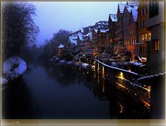 Tübingen-139E1-Neckarfronte_03122010_18'52 (eduard43) Tags: christmas river lights mood weinachten fluss altstadt oldtown neckar stimmung lichter 2010 tübingen